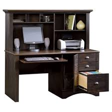 Small Writing Desk With Drawers by Amazon Com Harbor View Computer Desk With Hutch Antiqued Paint