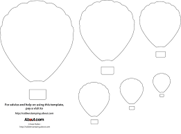 balloon template printable free coloring pages art coloring pages