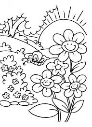 coloring books babies flowers coloring pages children