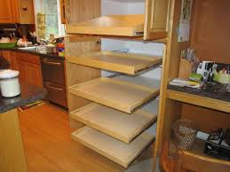 Kitchen Cabinet Sliding Shelves by Shelves Awesome Pull Out Storage For Kitchen Cabinets With Pull