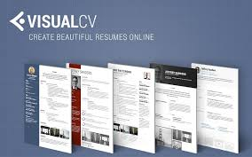 Online Resume Builder by Visual Cv Online Resume Builder Chrome Web Store