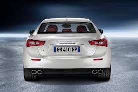 white maserati rear maserati recalls ghibli quattroporte for rear suspension failure