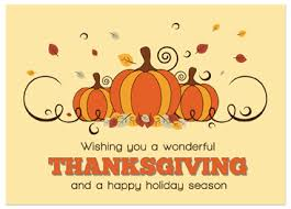 thanksgiving business greeting card messages festival collections