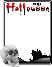 11 photoshop frame png for halloween images transparent