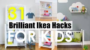 Kids Room Dividers Ikea by 31 Smart Ikea Ideas For Kids Youtube
