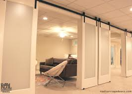 Hardware For Sliding Barn Doors Flat Track by Multi Door Application With Sliding Barn Door Hardware By Www