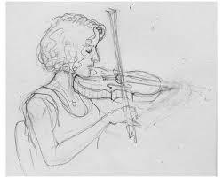 sketches of musicians achillesportfolio
