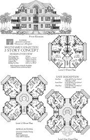 floor plan for commercial building commercial collection comm multi family residence 3 story 10 units