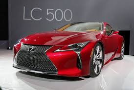 lexus concept coupe 2017 lexus lc 500 hunts down mercedes s class coupe in detroit