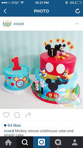 mickey mouse clubhouse cake mickey mouse clubhouse 1st birthday