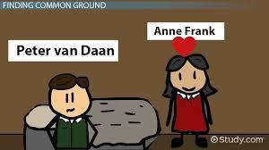anne frank u0026 peter relationship compare u0026 contrast video