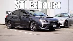 sti subaru 2016 black 2015 2017 subaru wrx sti sti performance exhaust pure sound