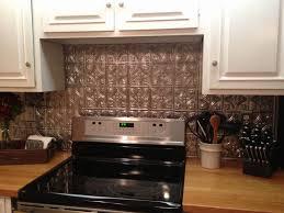 kitchen metal backsplash kitchen metal backsplash ideas beautiful cool diy faux tin kitchen