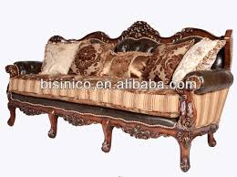 Furniture Set For Living Room by Spanish Style Wooden Sofa Set For Living Room Antique Soft Fabric