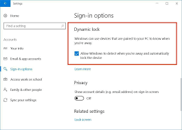 how to use windows 10 dynamic lock and just walk away cnet