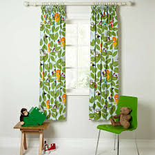 Jungle Curtains For Nursery Home At Lewis Animal Pencil Pleat Pair Blackout