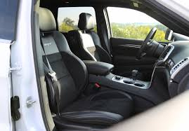 jeep interior seats review 2015 jeep grand cherokee srt canadian auto review