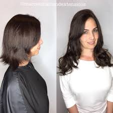 Hair Extensions Procedure by Hair Extensions Miami By Best Salon Great Lengths Salon Tape