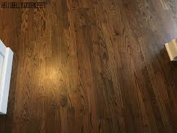 hardwood floor stain dark walnut by minwax home renovations