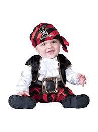 Amazon Boys Halloween Costumes Amazon Incharacter Costumes Baby U0027s Cap U0027n Stinker Pirate