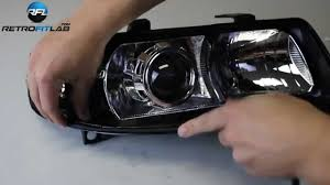 seat leon 1m 2001 2006 bi xenon projectors hid installation video