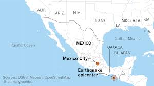 Mexico City Airport Map Mexican Authorities Report An 8 4 Earthquake Off Southern Coast