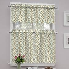 Bathroom Tier Curtains Cafe Curtains You U0027ll Love Wayfair