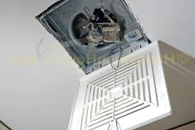 bathroom ventilation fan installation for modern concept
