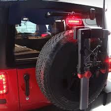 jeep wrangler third brake light 3pcs smoke led rear taillight 3rd third brake light combo for 07 17