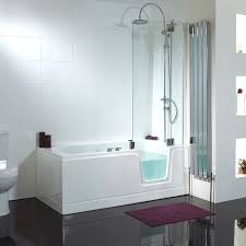 Bathtub To Shower Conversion Kit Bathroom Lowes Walk In Bathtub With Shower Combo A Tub For Ease