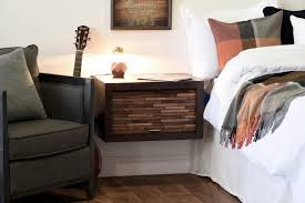 wall mounted nightstand ideas pavillion home designs wall