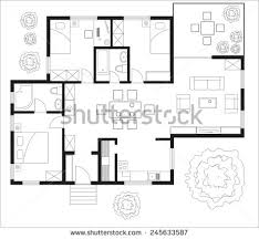 free floor plans for houses free floor plan vector free vector stock graphics