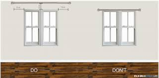 Installing Curtain Rod Opulent Design Installing Curtain Rods Tips For Hanging Savae Org