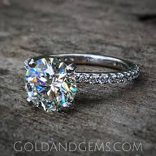 gem gold rings images Petite sparkle thin diamond engagement ring by gold and gems jpg