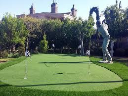 Artificial Backyard Putting Green by Artificial Lawn Alondra Park California Indoor Putting Green
