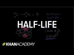 half life and carbon dating video nuclei khan academy