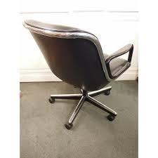 fauteuil de bureau knoll vendu fauteuil de charles pollock modèle 12e1 édité par knoll
