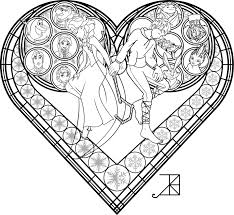 disney stained glass coloring pages getcoloringpages com