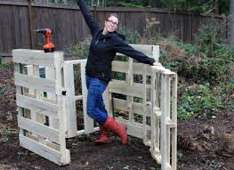 Rabbit Hutch From Pallets Diy How To Build A Compost Bin Out Of Wood Pallets One Hundred