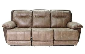 Double Reclining Sofa by Bubba Brown Double Reclining Sofa Mor Furniture For Less