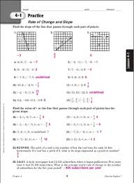 collection of solutions glencoe algebra 1 worksheets answer key in