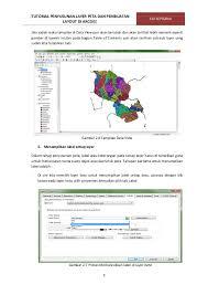 fungsi layout peta dalam sig adalah tutorial penyusunan layer peta pembuatan layout di arcgis
