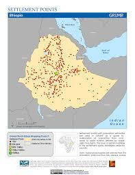 Map Of Ethiopia Map Gallery Sedac