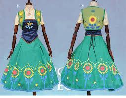 Princess Anna Halloween Costume Aliexpress Buy Halloween Costume Women Princess Anna