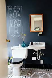 bathroom exciting shabby chic chalkboard bathroom ideas with vase