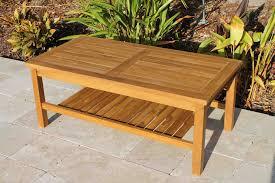sale teak coffee table 48in oceanic teak furniture