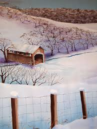kaaren s blog the winter mural the winter mural