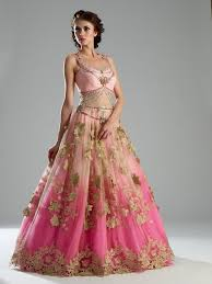 Indian Wedding Dresses Pink Desi Ballgown Wedding Dresses Pinterest Indian Bridal