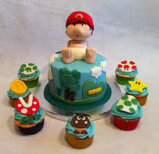 baby mario bros theme baby shower pictures to pin on pinterest