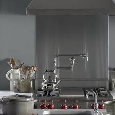 kohler pot filler faucet artifacts deck mount pot filler faucet k